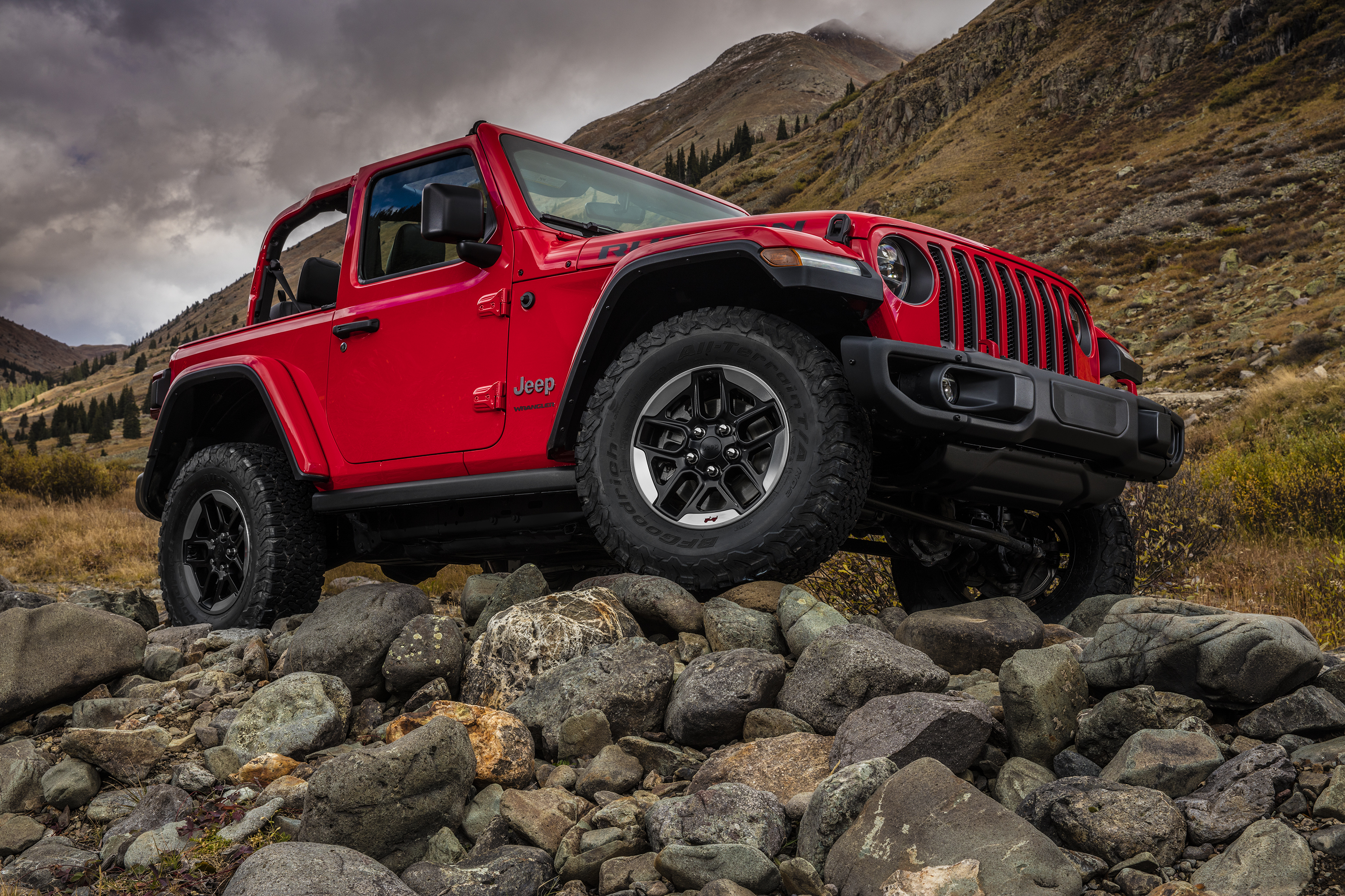 2018 Jeep Wrangler Rubicon off-road