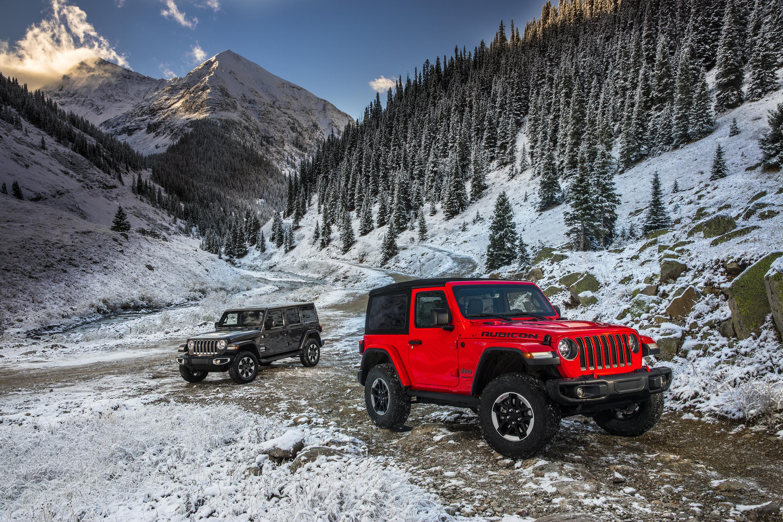 2018 Jeep Wrangler range
