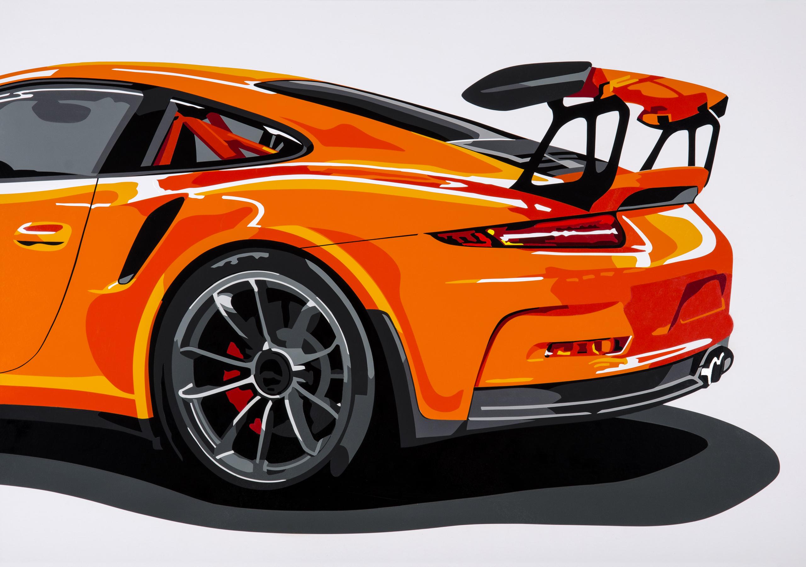 Joel Clark Porsche 991 GT3 RS