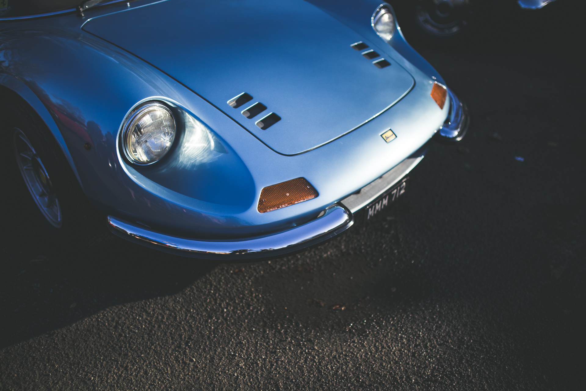 Bicester Heritage Sunday Scramble Ferrari Dino 246 GTS