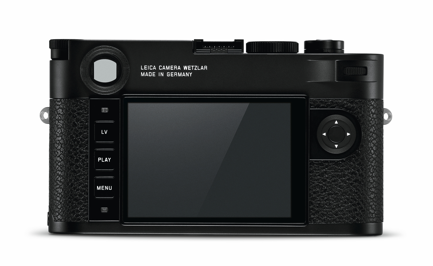 Leica M10 rear screen
