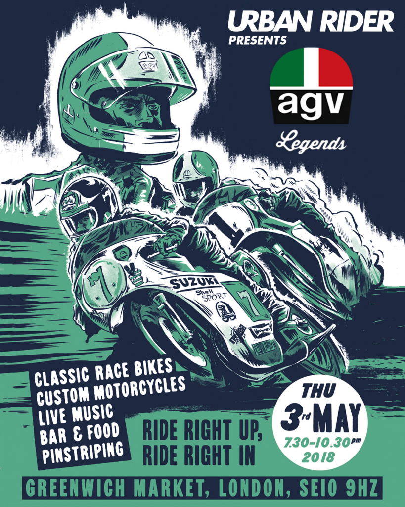 Urban Rider AGV Launch