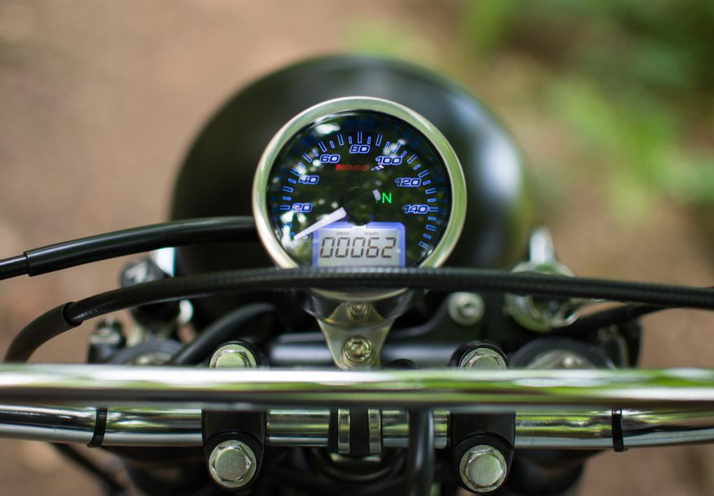 Side Rock Honda XL200R