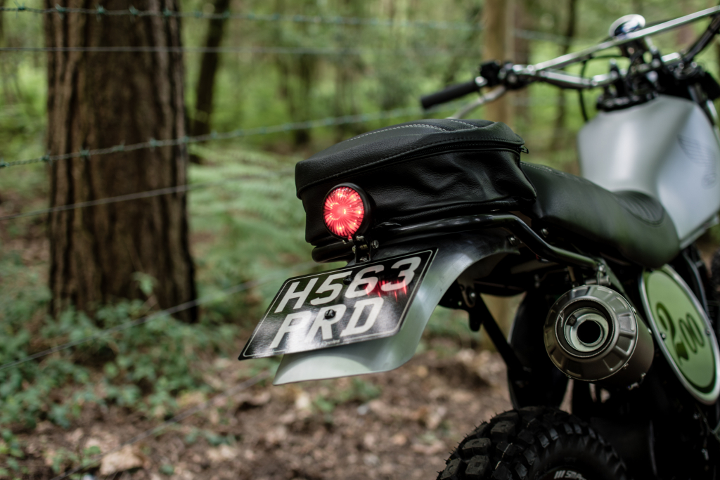 Side Rock Honda XL200R