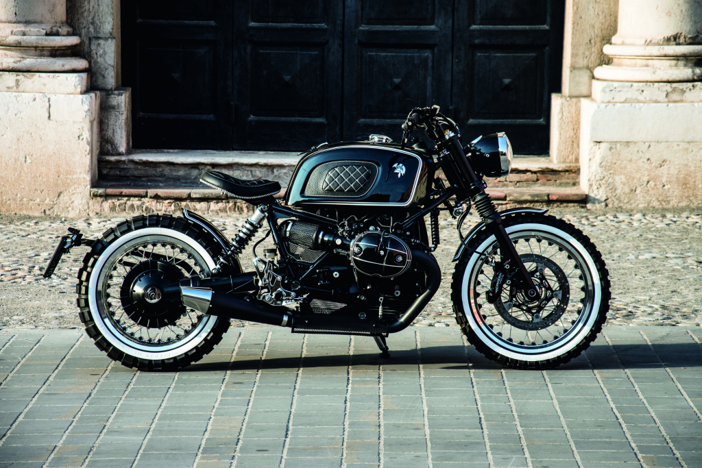 ARES DESIGN for the BMW R nineT - Building - Profile Close