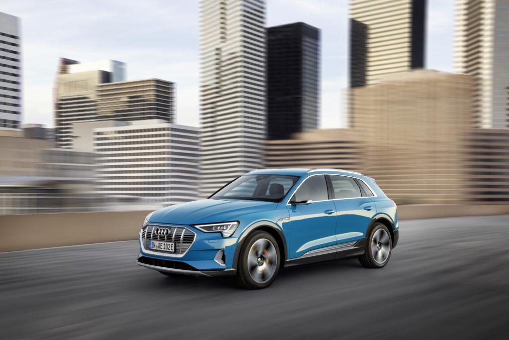 Audi e-tron San Francisco unveil