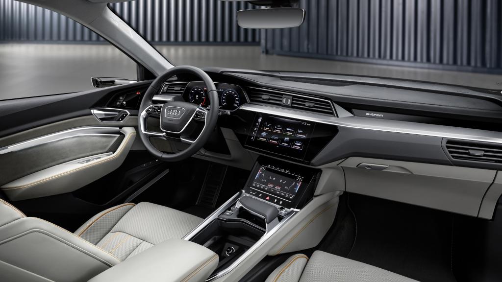 Audi e-tron San Francisco unveil interior