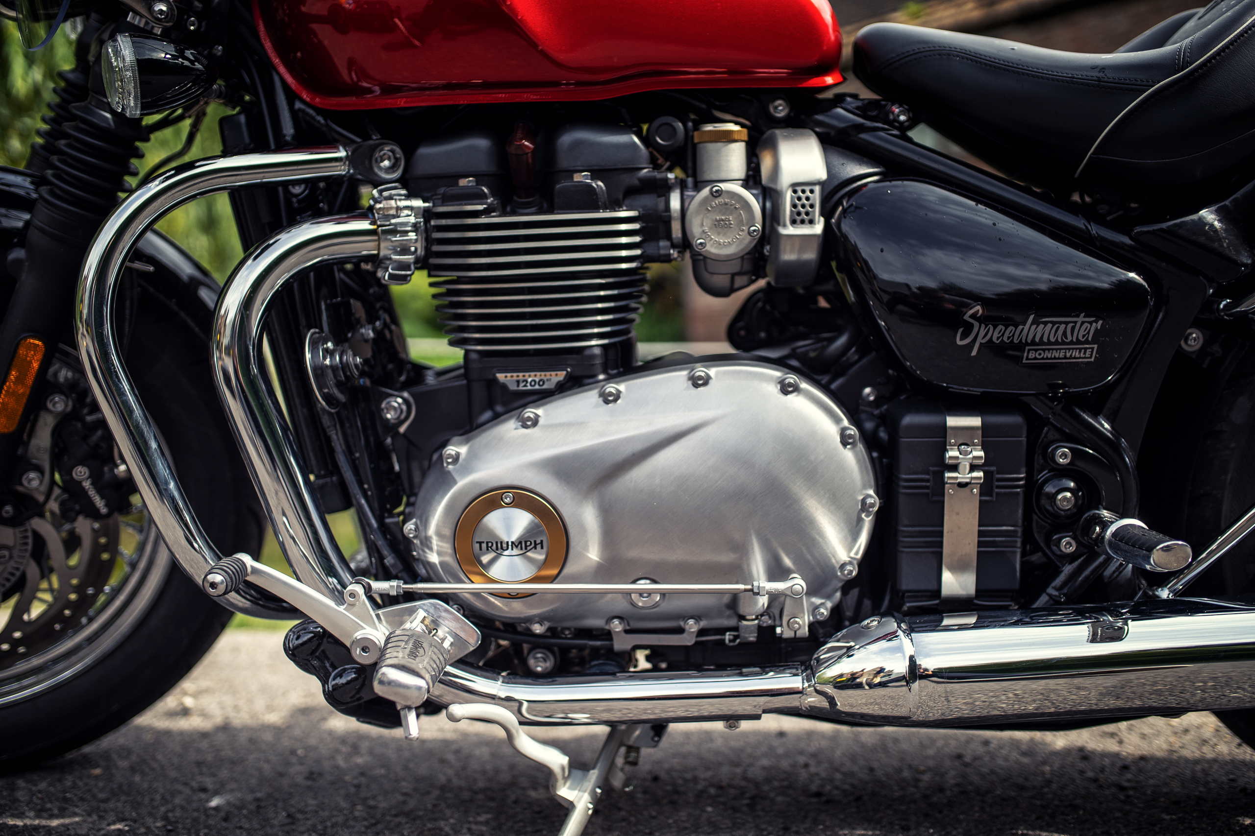 Flat Out Magazine First Ride Triumph Speedmaster Flat Out Magazine