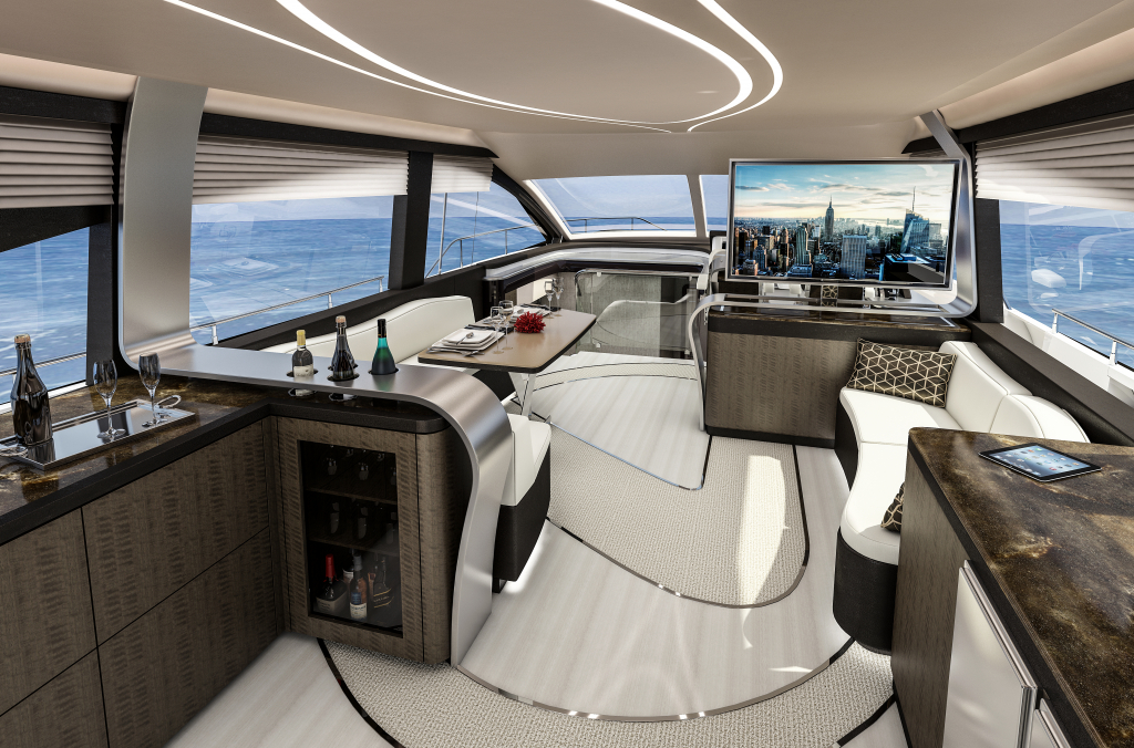 LY 650 Luxury Yacht