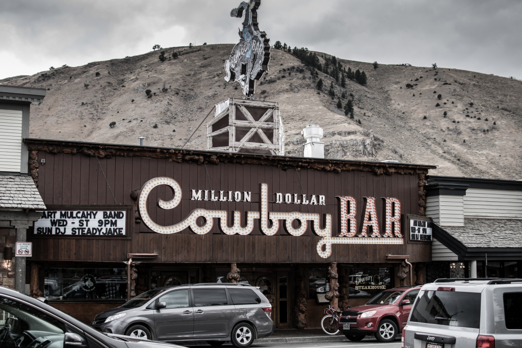 Cowboy Bar Rolls Royce Jackson Wyoming