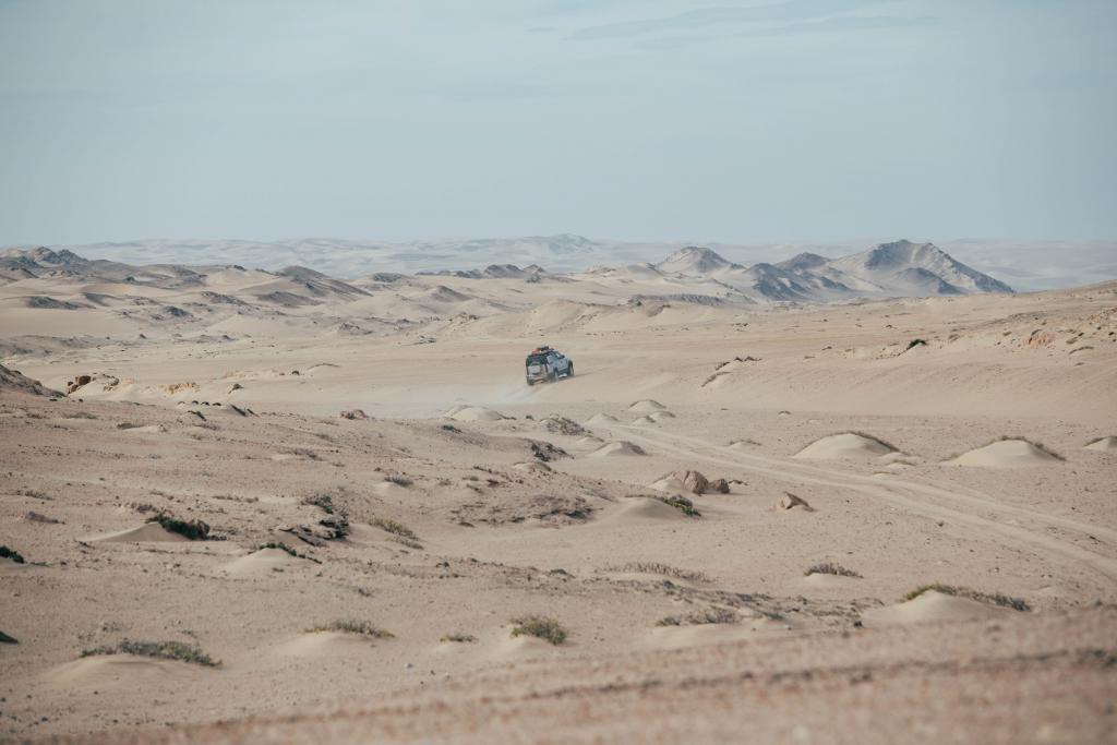 Land Rover Defender Namibia
